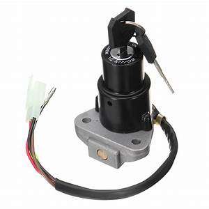 3 Pin 4 Wire Ignition Lock Switch  U0026 Key For Yamaha Dt125 R