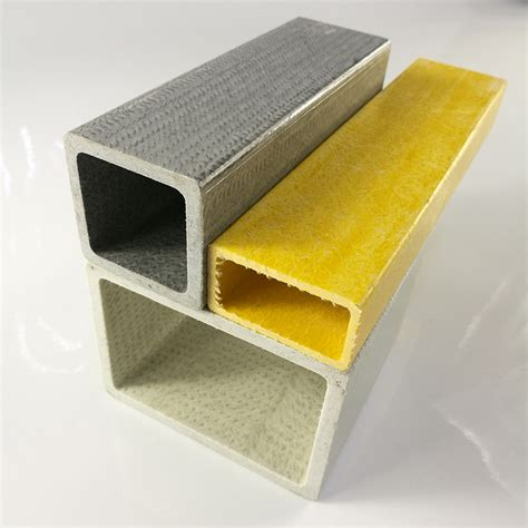 pultruded  square rectangular fiberglass reinforced