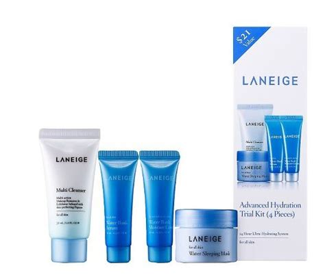 water bank trial kit review laneige