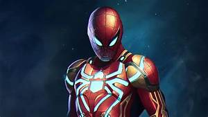 Spider, Man, New, Armor, Superheroes, 4k, Hd, Movies, Wallpapers