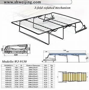 China Sofa Bed Mechanism  Wj-9150
