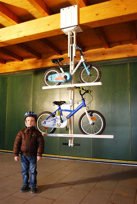 ceiling bike rack flat flat bike lift or how to park your bicycle on the ceiling