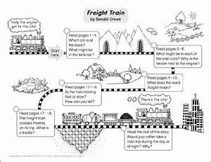 Freight Train: Reading Response Map | Printable Book ...
