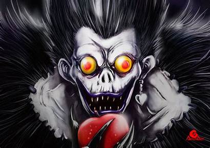 Ryuk Death Note Ryuke Drawing Dibujos Reto