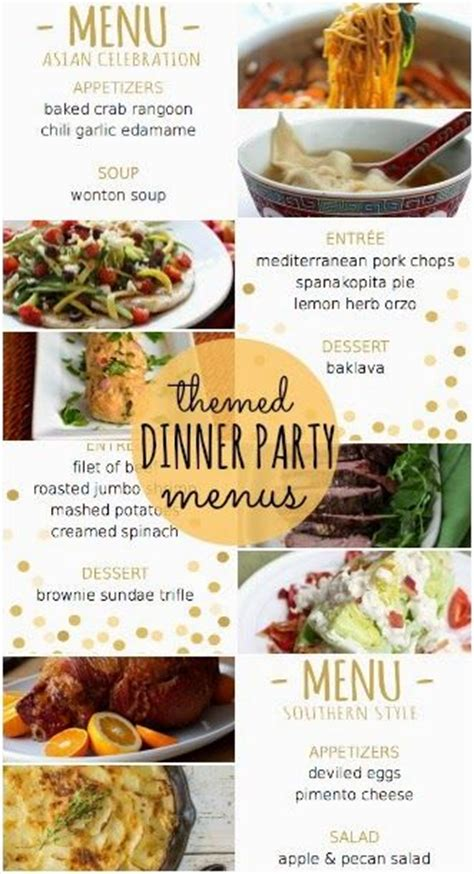 Entertaining New Years Dinner by The 25 Best Themed Dinner Ideas On