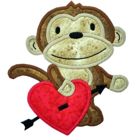 Monkey Applique by Monkey Applique Boy