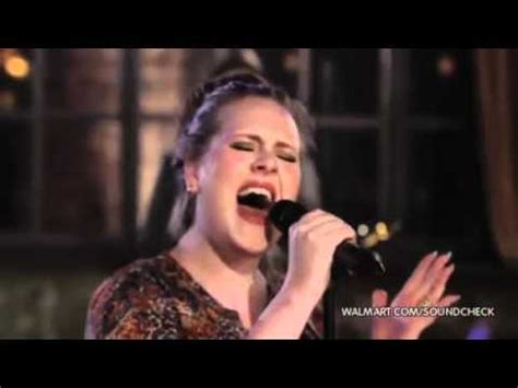 Adele  Rolling In The Deep (live At Walmart Soundcheck