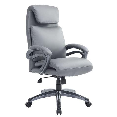 equipment ergonomic executive office chair pu leather