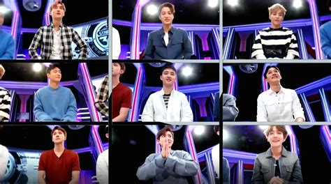 exo show watch exo can t stop laughing in preview for quot star show
