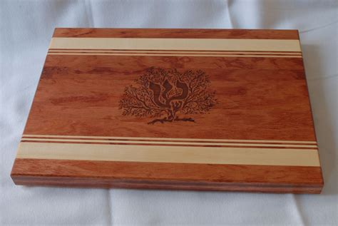 Hand Crafted Engraved Wood Cutting Board