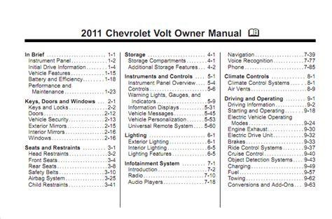 chevy volt owners manual gm volt chevy volt electric