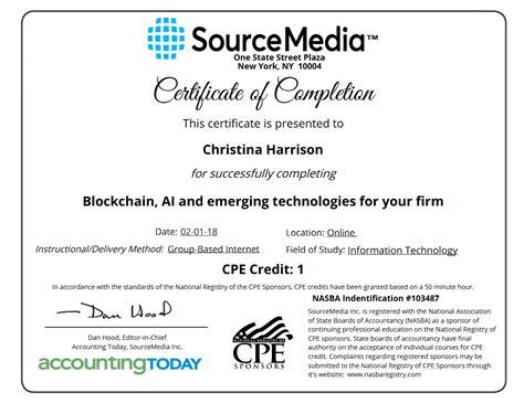 certificates  continued education simplecert
