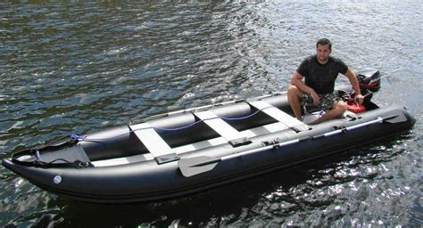 Extreme Fishing Inflatable Boat by Introducing The Kaboat The Unique Crossover Between An