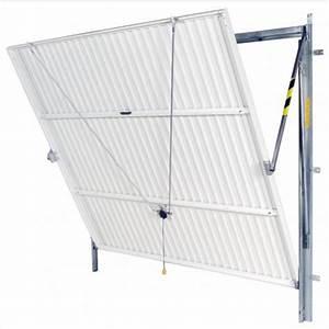 Porte de garage basculante non debordante batiman for Porte de garage basculante non debordante