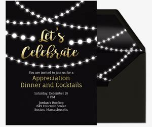 corporate professional office event invitations evite