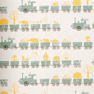 Papier Peint Bébé Garcon : papier peint pour une chambre gar on ~ Nature-et-papiers.com Idées de Décoration