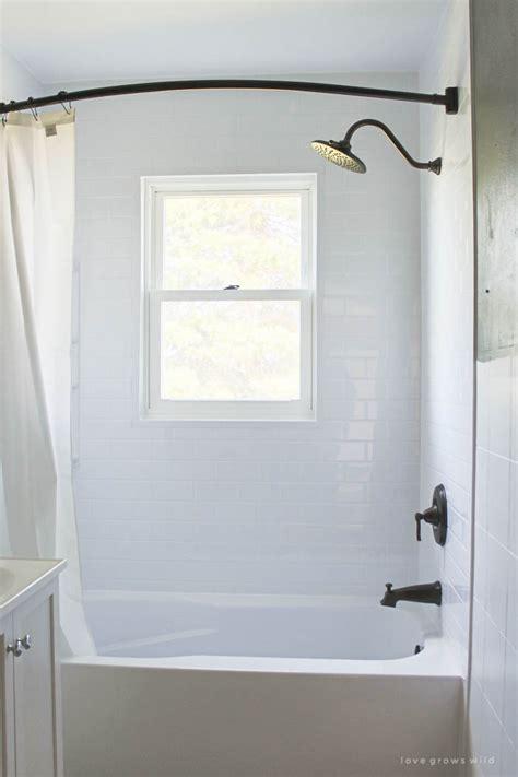 bathroom makeover week  bathtub installation love