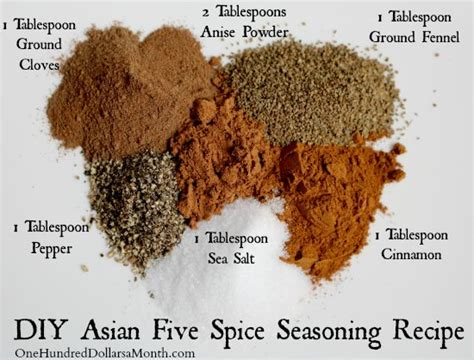 Ingredients For Pumpkin Pie Mix by Diy Asian Five Spice Seasoning Recipe One Hundred