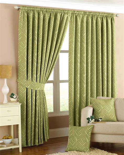 Narrow Leaf Ready Made Lined Curtains  Cortinas (curtains