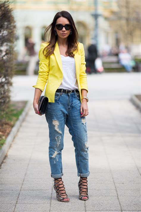 trendy yellow outfit combinations  spring fashionsycom
