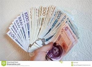 Norwegian Kroner Currency Stock Photo - Image: 41817891