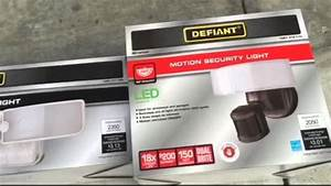 Defiant Led Switch Light And Motion Security Light