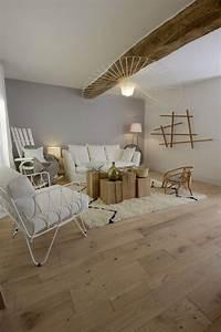 Peinture Pour Parquet : peinture parquet bois id e int ressante pour la ~ Premium-room.com Idées de Décoration