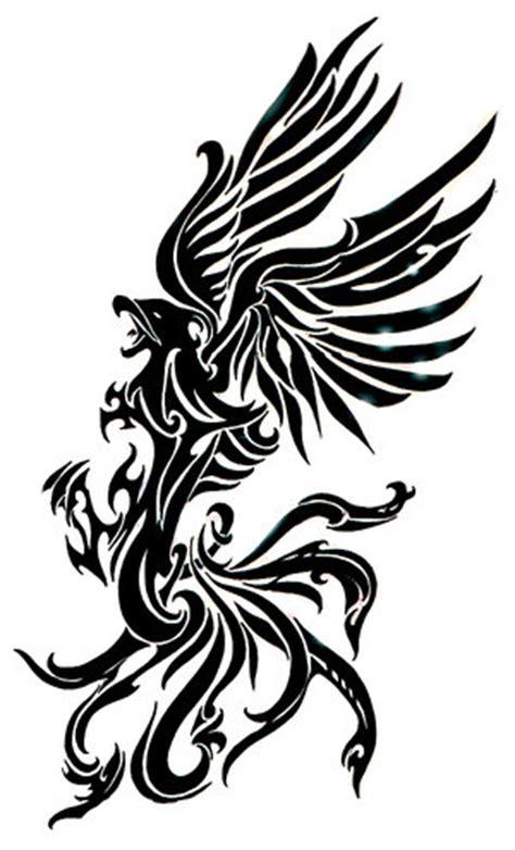 tribal phoenix tattoo meaning