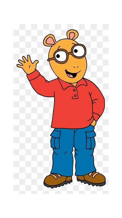 Cartoon Character Clipart Arthur Reading Characters Children