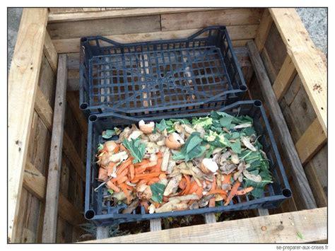 Odeur Composteur Jardin by Construire Un Composteur Gratuit En Bois De Palette Se