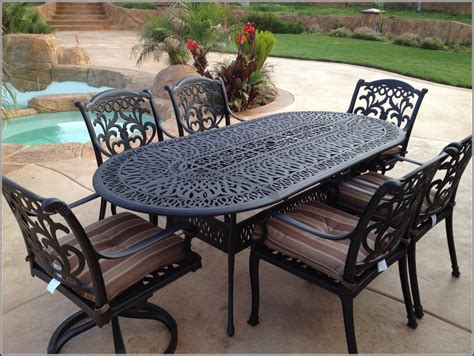 Iron Patio Furniture by Vintage Salterini Wrought Iron Table And Chairs In Powder