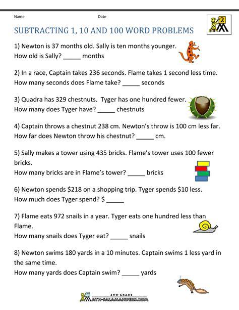 Worksheet 2 Digit Subtraction Word Problems Grass Fedjp Worksheet Study Site