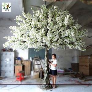 UVG 4m Decorative artificial tree with white cherry