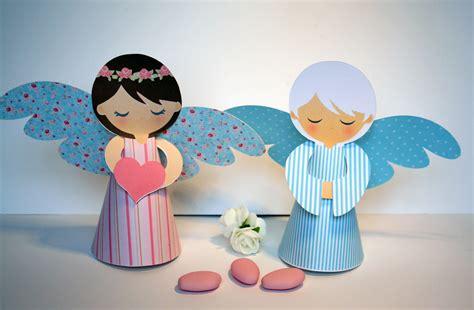 2 anges en papier 3d pour d 233 coration de table de bapt 234 me ou communion accessoires de