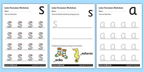 phase  letter formation worksheets phase  phase  letter