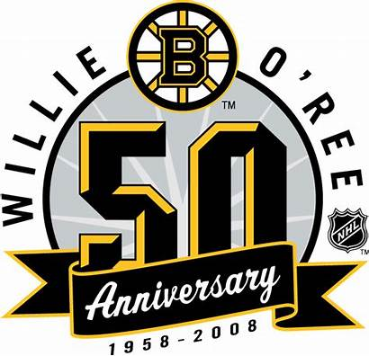 Bruins Boston Anniversary Nhl Logos Ree Heat