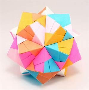 Origami Polyhedron Unit  U2013 Embroidery  U0026 Origami
