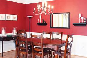 living room engaging dining room red paint ideas bright With dining room red paint ideas