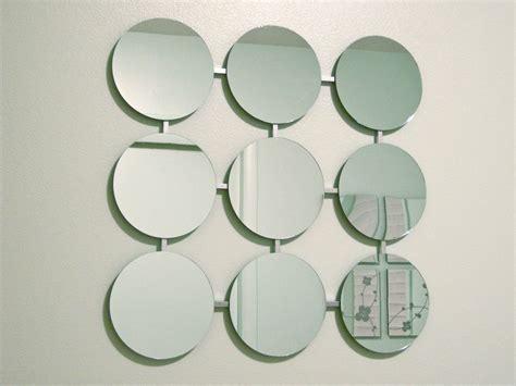 mod mirrors retro circles modern mirror  eames era