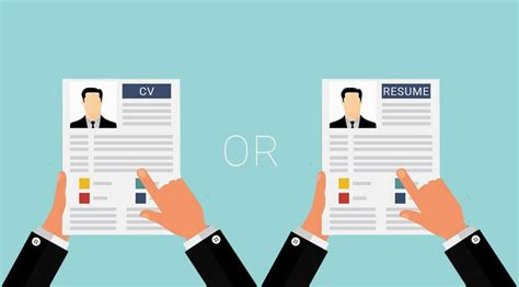 what s the difference between a cv and a resume all is