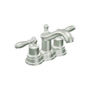 discontinued moen kitchen faucets faucet ca84914cbn in classic brushed nickel by moen