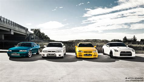 Gtr Generations Wallpaper by Nissan Gtr 4 Generations R32 R33 R34 R35 Photo By