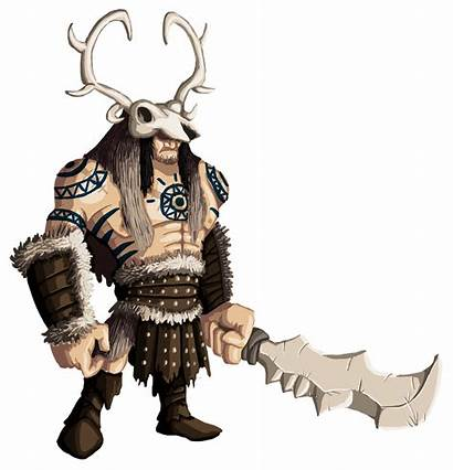 Character Barbarian Gannon Characters Sean Ma Games