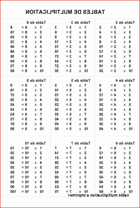 les tables de soustraction  imprimer ohbqinfo