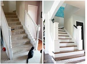 Staircase makeover for Amazing staircase makeover ideas