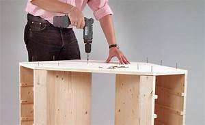 Eckschrank Selber Bauen : eckschrank mit tisch bauen holzarbeiten m bel ~ A.2002-acura-tl-radio.info Haus und Dekorationen