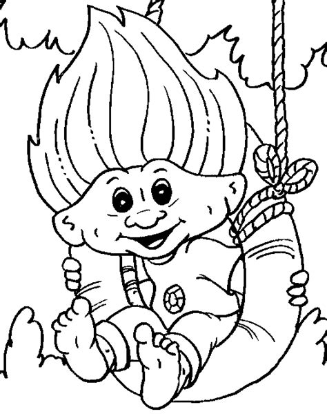 Gratis Kleurplaten Trolls by Gratis Trolls Kleurplaten Voor Kinderen 2