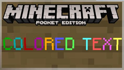 minecraft color text 0 11 1 how to get colored text on signs in mcpe