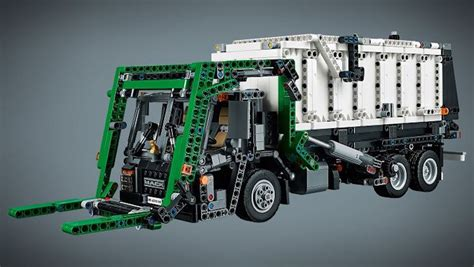 mack truck anthem lego technic trash refuse