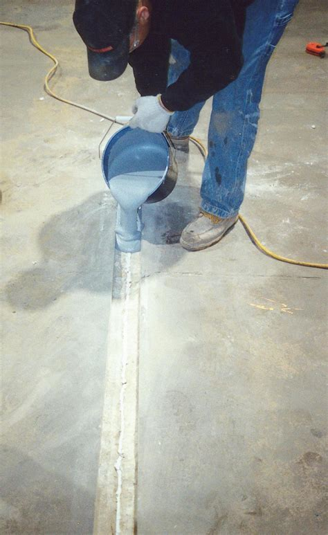 repairing joints  concrete slabs concrete construction
